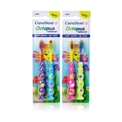 Octopus Kids Toothbrush Twin