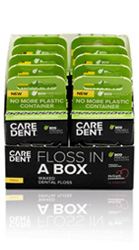 Floss In A Box Periotape Dental Flossing Tape 100m (6/Box)
